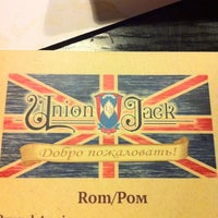 Photo taken at Union Jack by Andre A. on 11/17/2012