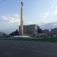 Photo taken at Площадь Победы by Karina K. on 6/26/2015