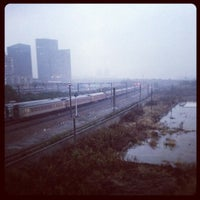 Photo taken at Xinzhuang Metro Station by r475 on 12/29/2012