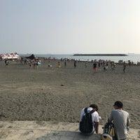 Photo taken at 旗津海水浴場 Cijin Beach by r475 on 9/23/2017