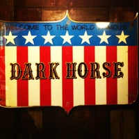 Photo taken at World Famous Dark Horse Bar & Grill by Eric M. on 12/27/2012