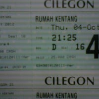 Photo taken at Cilegon 21 by andry p. on 10/4/2012