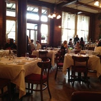 Photo taken at Capsouto Freres Bistro Restaurant by Andrew on 9/30/2012