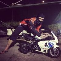 Photo taken at Minibike Motoclub NT by Soosh on 10/19/2013