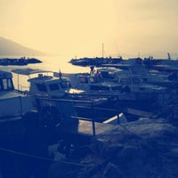 Photo taken at davutlar tekne limani by İlker on 10/20/2015