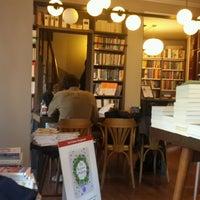 Photo taken at Nail Kitabevi & Kafe by Elif Ayse O. on 1/21/2017