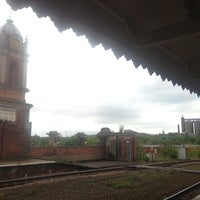 Photo taken at Bury St Edmunds Railway Station (BSE) by Caity R. on 5/11/2013
