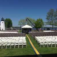 Photo taken at Concord Point and Lighthouse by Eddie W. on 5/4/2013