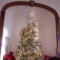 Photo taken at Schoeneck Moravian Church by Trisha C. on 3/2/2014