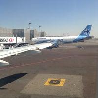 Photo taken at International Departures by Mari F. on 1/26/2013
