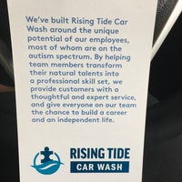 Photo taken at Rising Tide Car Wash by Four Paws Place w. on 4/6/2017