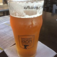 Photo taken at Brown Iron Brewhouse by Dave G. on 6/10/2017