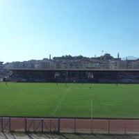 Photo taken at Niğde 5 Şubat Stadyumu by Canerimo on 10/14/2012