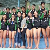 Photo taken at Abellana Swimming Pool by Kathrinne C. on 9/14/2016