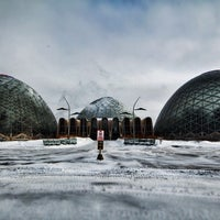 Photo taken at Mitchell Park Horticultural Conservatory (The Domes) by Aaron L. on 3/3/2014
