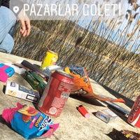 Photo taken at Pazarlar Göleti by Kader A. on 2/18/2017