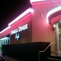 Photo taken at Omega Diner by Carito E. on 9/25/2012
