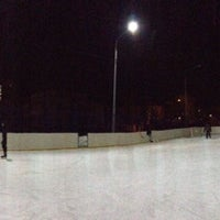 Photo taken at Каток by 7043 on 12/22/2012