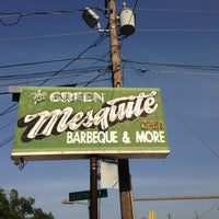 Photo taken at Green Mesquite BBQ by Craig C. on 6/28/2013