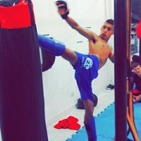 Photo taken at Fight Center Team by Camilo F. on 3/3/2016