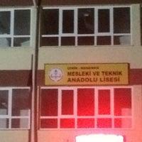 Photo taken at Menemen Mesleki ve Teknik Anadolu Lisesi by UTKUM❤️ on 3/11/2017