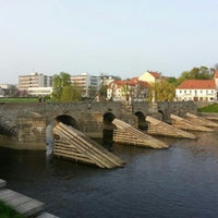 Photo taken at Stone bridge by Šámot Retsef K. on 5/1/2013