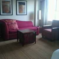Photo taken at Residence Inn by Marriott Long Beach Downtown by Tracy C. on 4/25/2013