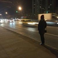 "Photo taken at Остановка «Магазин ""Спортмастер""» by alena b. on 11/6/2015"