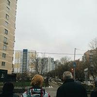 Photo taken at Олимпийский проспект by alena b. on 12/20/2015