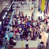 Photo taken at Phuket International Airport (HKT) by Arthur L. on 4/26/2013
