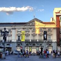 Photo taken at Plaza de Santa Ana by Jl P. on 7/5/2013