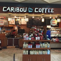Photo taken at Caribou Coffee by Bokeh on 12/27/2015