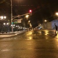 Photo taken at Улица Пушкина by Алиса К. on 11/8/2015