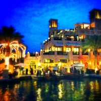 Photo taken at Souq Madinat Jumeirah by 3bood a. on 1/8/2013