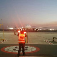 Photo taken at A5 Parking Bay King Shaka International Airport by T D. on 5/23/2016