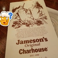 Photo taken at Jameson's Charhouse by Miles B. on 5/3/2017