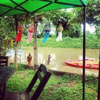 Photo taken at Akha River House by Teerapon w. on 8/10/2013