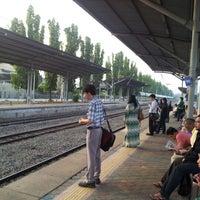 Photo taken at KTM Line - Kajang Station (KB06) by Mohd Faudzi N. on 10/9/2012