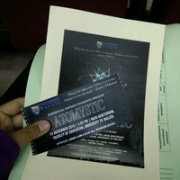 Photo taken at Auditorium Falkulti Pendidikan Universiti Malaya by Syahirah J. on 12/13/2016
