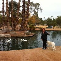 Photo taken at Encanto Park by Jessica C. on 12/25/2012