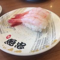 Photo taken at 回転さかなや鮨 魚忠 則武本通店 by Tetsuya U. on 9/9/2017