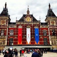 Photo taken at Amsterdam Central Railway Station by Frederik S. on 4/24/2013