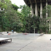 Photo taken at El Spot Viaducto by Alexis s. on 7/25/2013