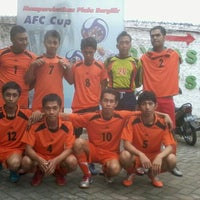 Photo taken at Dynasty Futsal & Cafe by Lukman A. on 6/1/2013