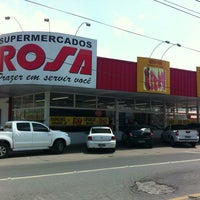 Photo taken at Supermercado Rosa by Clauber R. on 2/20/2013