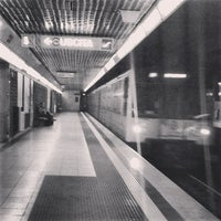 Photo taken at Metro Porta Romana (M3) by Michele S. on 6/24/2013
