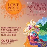 Photo taken at NUSA DUA FIESTA by jakki ⚡ y. on 10/9/2015