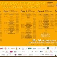 Photo taken at NUSA DUA FIESTA by jakki ⚡ .. on 10/10/2014