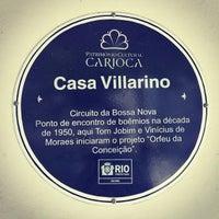 Photo taken at Casa Villarino by Fábio L. on 1/2/2014