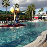 Photo taken at Disney's All-Star Music Resort by David D. on 10/22/2012